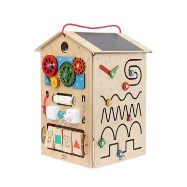 Maison multi activités en bois - Boutique Busy House Co sur Etsy