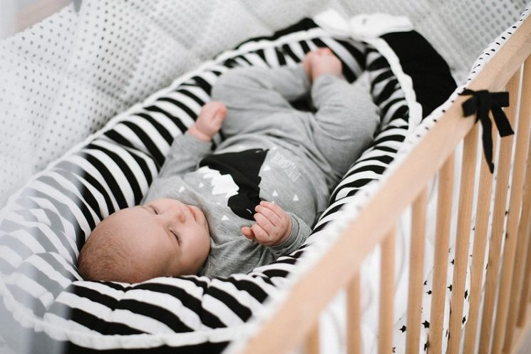Coussin de lit pour bébé - Boutique Cot and Cot sur Etsy