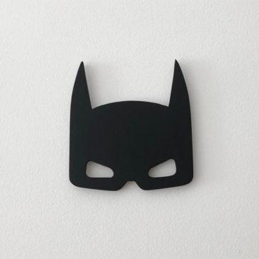 Masque de Batman en bois pour déco murale - Boutique Et Mon Papou Créa sur Etsy