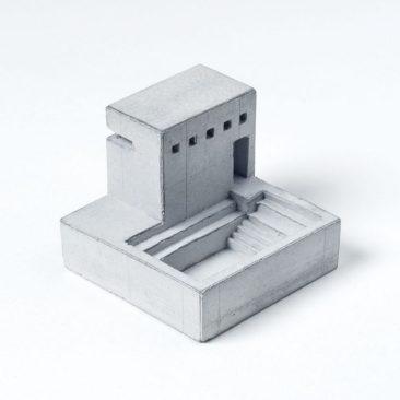 Maison miniature en béton sur la boutique etsy Material Immaterial