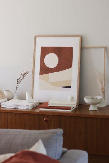 Grand Tirage Fine Art édition, DESERT sur la boutique Etsy OAK gellery