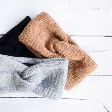 Turban tricoté sur la boutique Plexida