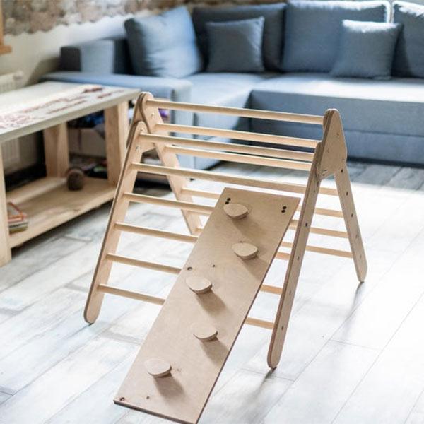 Echelle en bois, jeu de gymnastique enfant Wood Photo Gift