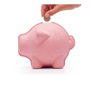 Tirelire en papier mâché en forme de cochon - Boutique Puik Design sur Etsy