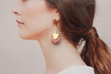 Boucles d'oreilles en dentelle, Palmas sur la boutique Etsy Thisilk