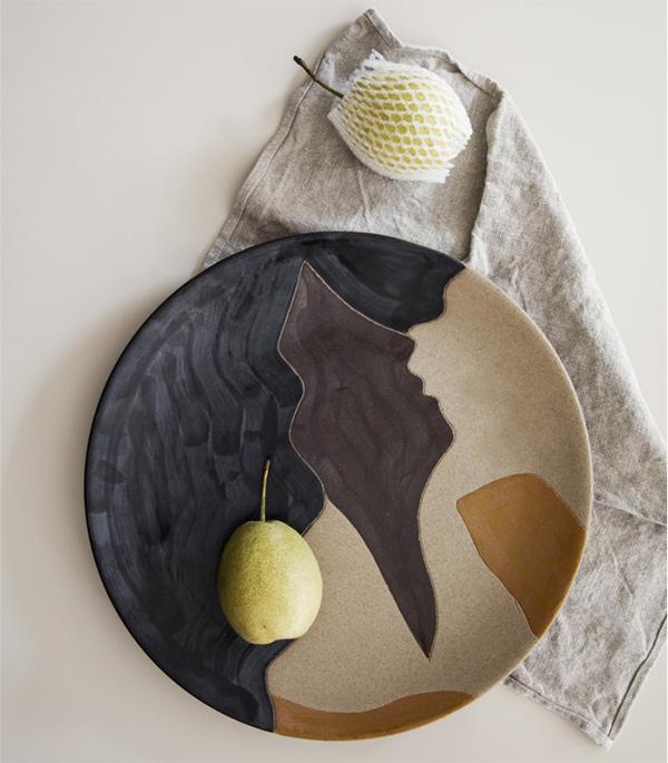 Assiette décorative céramique, Aya - Ferm Living