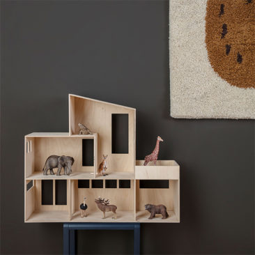 Maison de poupée en contreplaqué, Funkis - Ferm Living