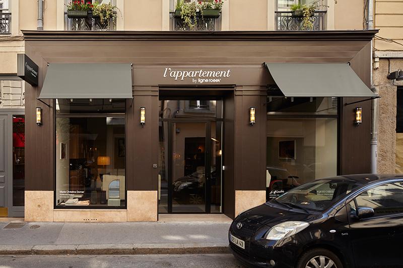 Vitrine de L'Appartement Ligne Roset - 41 rue Auguste Comte, Lyon 2