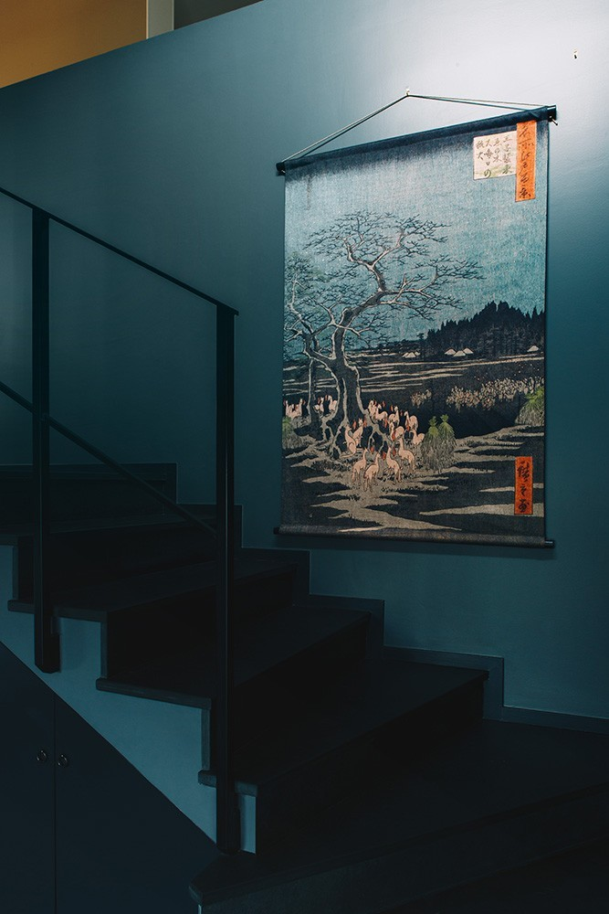 LES MATURINS, tentures modernes - Tapisserie murale LE JAPON