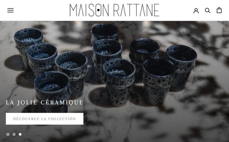 Maison Rattane, le nouvel E-Souk déco