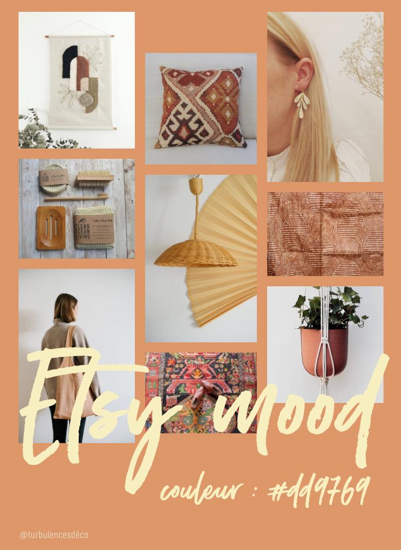 Etsy Mood : couleur #f0eac7 // Une sélection de produits déco et lifestyle, trouvés sur Etsy signée @turbulencesdeco