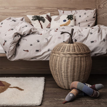Panier en osier, Apple, design Trine Andersen - Ferm Living