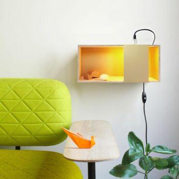 Applique murale étagère, LUX BOX - design : A+A Cooren - DesignerBox