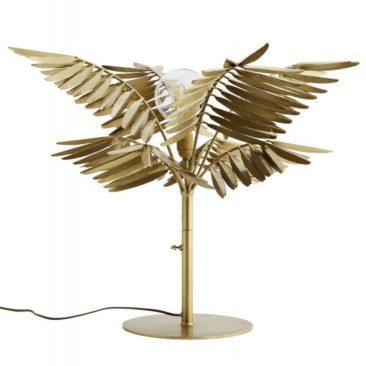 Lampe de table feuilles de palmier - Madam Stoltz