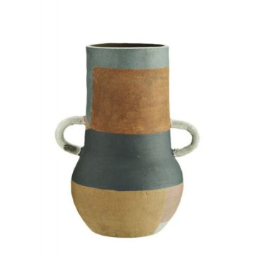 Vase en terre cuite multicolore - Madam Stoltz