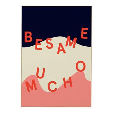 Affiche Besame - Mathilde Cabanas