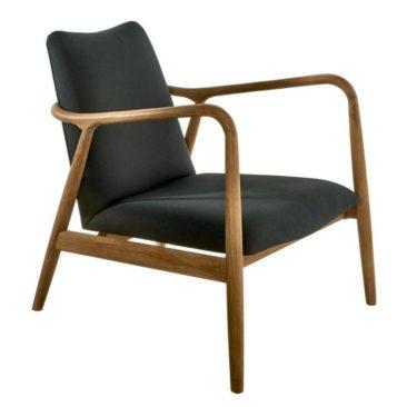 Fauteuil design rétro scandinave Charles - Pols Potten