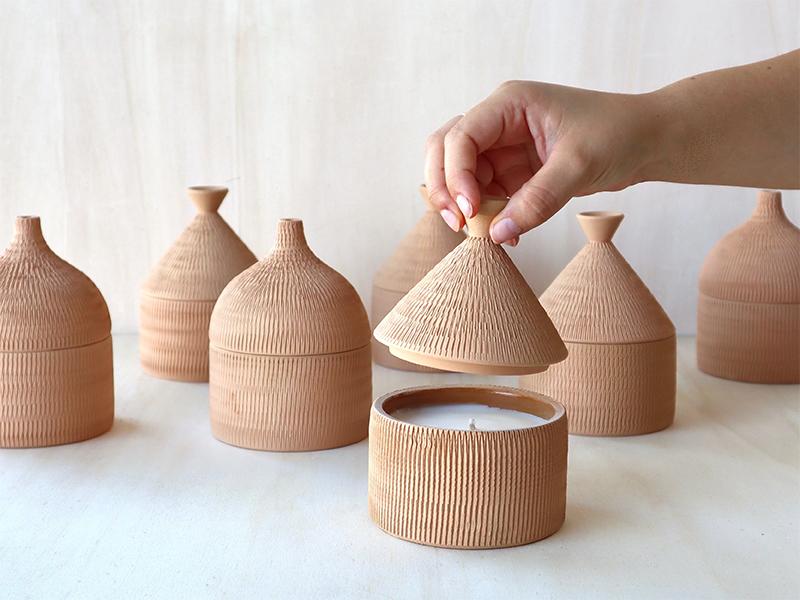 Federica Bubani - Collection Cabana - Bougies parfumées