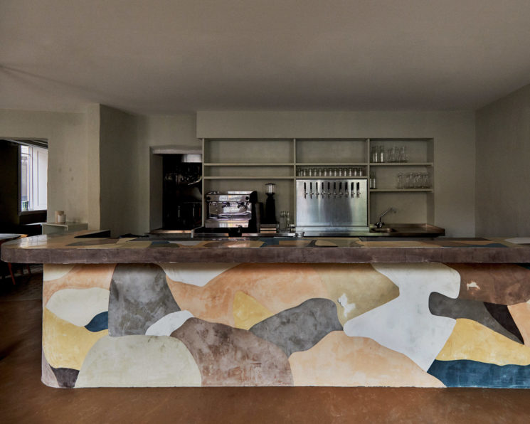 Restaurant Yaffa à Copenhagen par le studio Frama