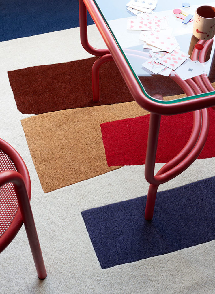Collection de tapis Space Modules, édition Goodmoods