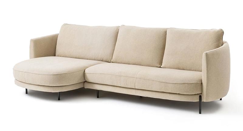 Demi canapé en lin stonewashed, ARCUS - 2590 €