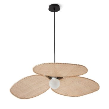 Suspension en cannage, Canopée, design E. Gallina - 199 € sur Ampm