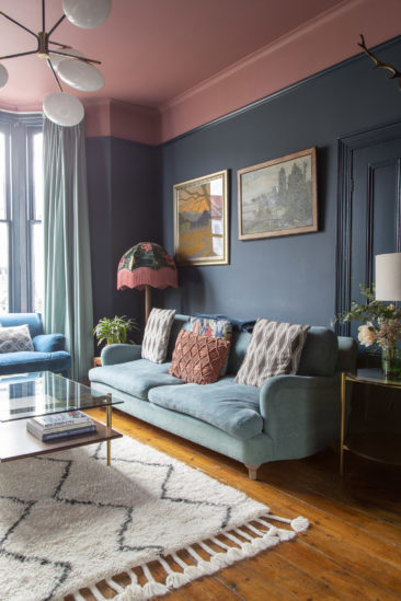 L'intérieur londonien de la designer et illustratrice Carol Maxwell, moche ou pas moche ?