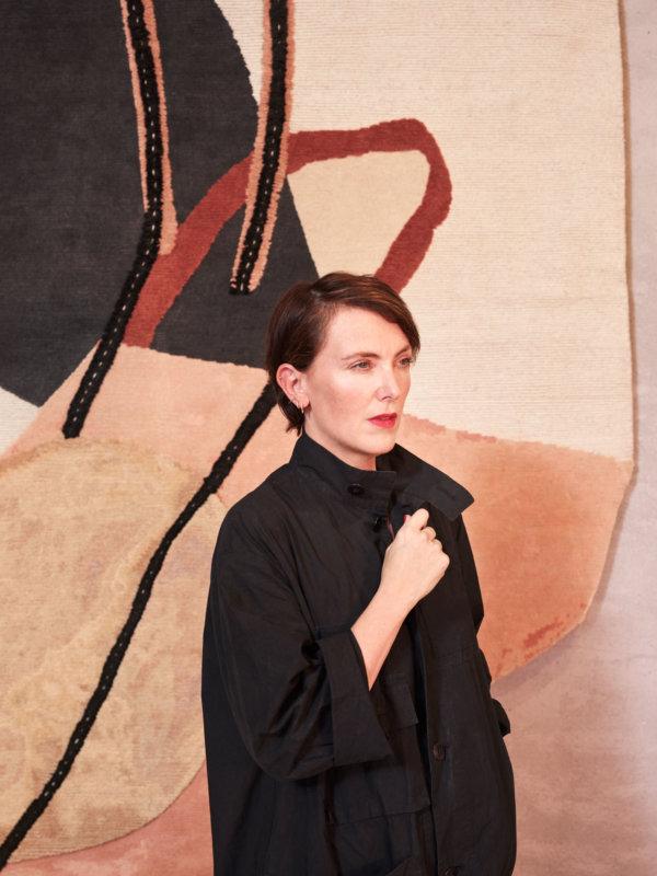 Collaboration entre la marque CC-Tapis et la designer britannique Faye Toogood
