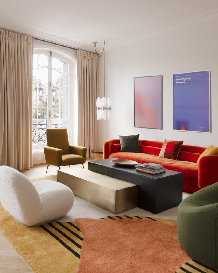 Projet Quai aux Fleurs 2018 - design interieur : Fleur de la Salle