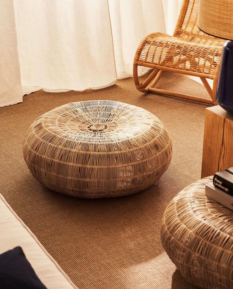 Catalogue Zara Home SS2020,// TABLE ROTIN