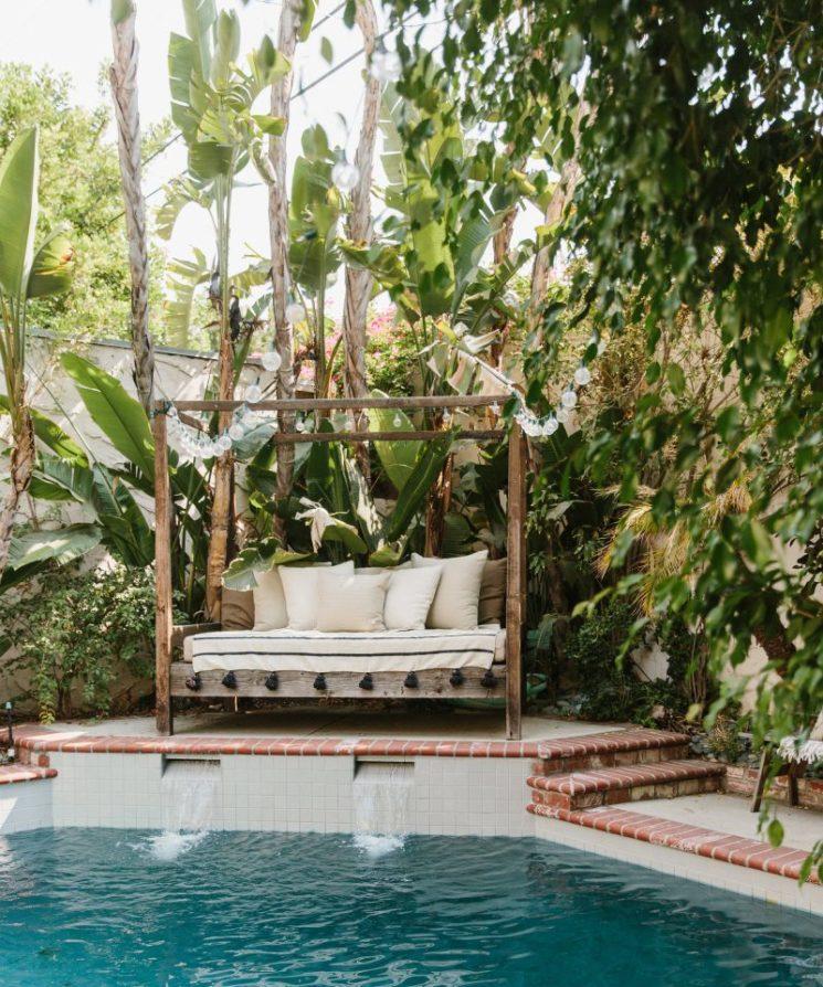 Vivre dedans/dehors || Le jardin d'Odette Annable en Californie