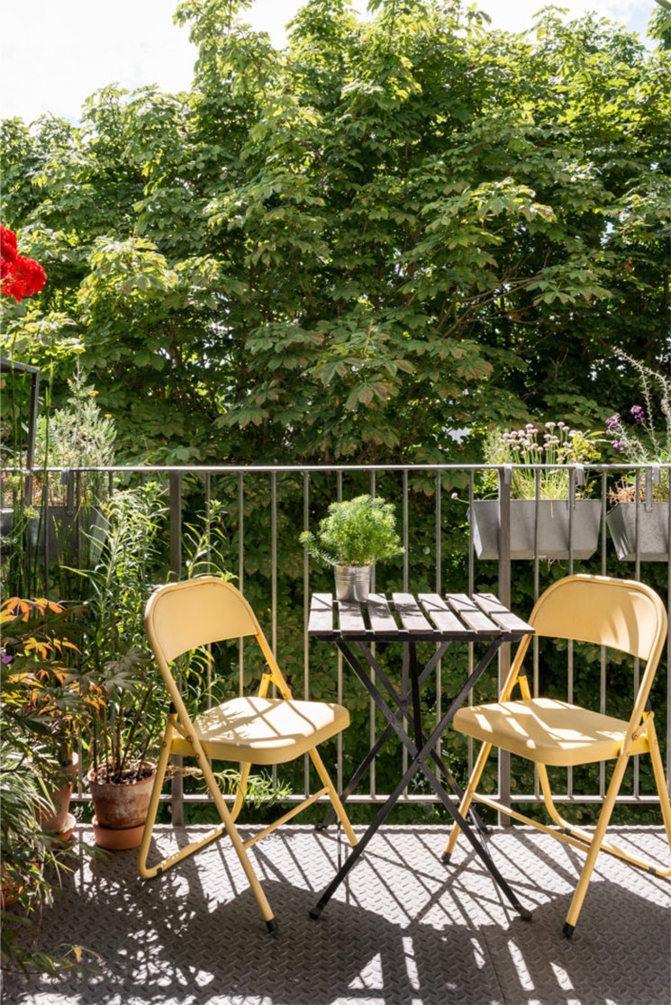 Table Pour Balcon Étroit 6 idées et pistes déco pour aménager un balcon plein de