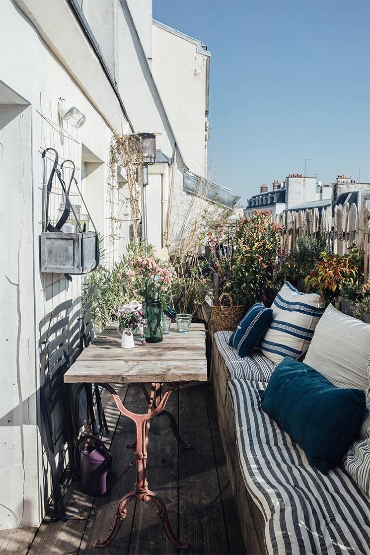 La balcon plein de charme de Zoé de las Cases // @ourfoodstories