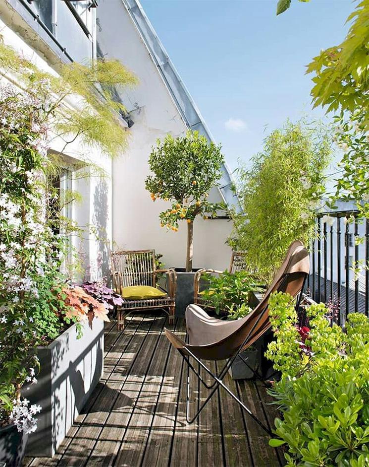 Végétaliser son balcon comme un jardin extérieur