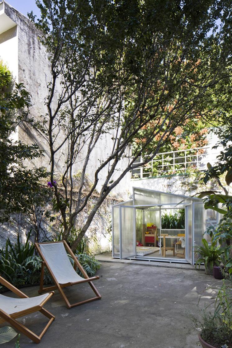 Vivre dedans/dehors || Le jardin de la Casa Sampaio Vidal São Paulo par Felipe Hess