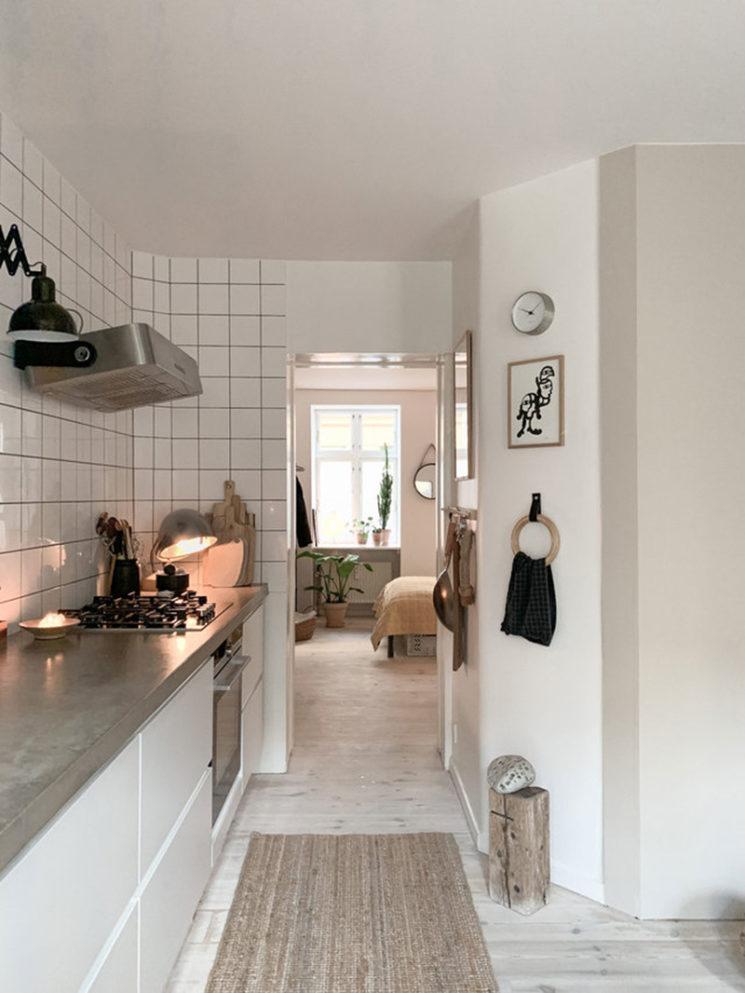 Un petit appartement design à Copenhague par Puk Sjeldan à louer sur Airbnb