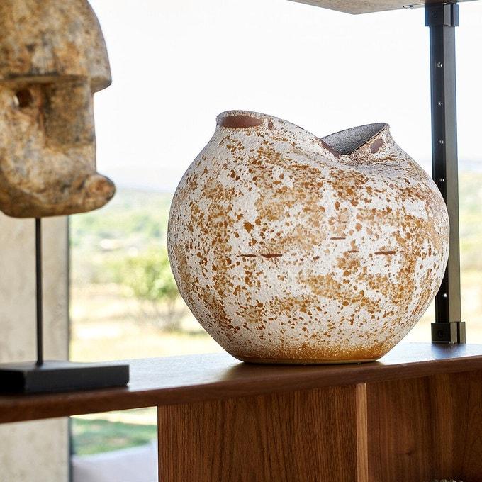 Vase sculpture H30 cm, Nankin Ampm