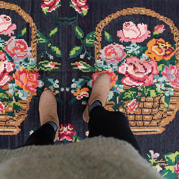 Tapis vintage, caucasien sur la boutique Etsy - Melek Carpet Online