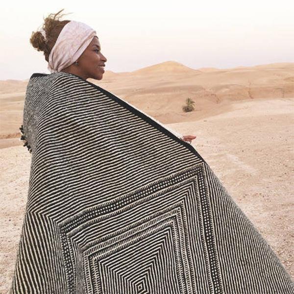 Tapis marocain en grosse laine, SHADAOUI Etsy - La Casa de Coto