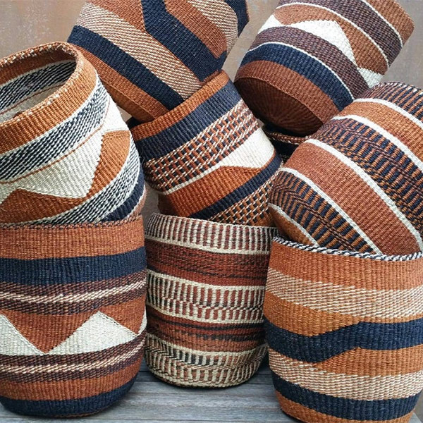 Panier à sisal traditionnel kenyan, TAMADUNI sur la boutique Etsy - Kenyan Crafts Company