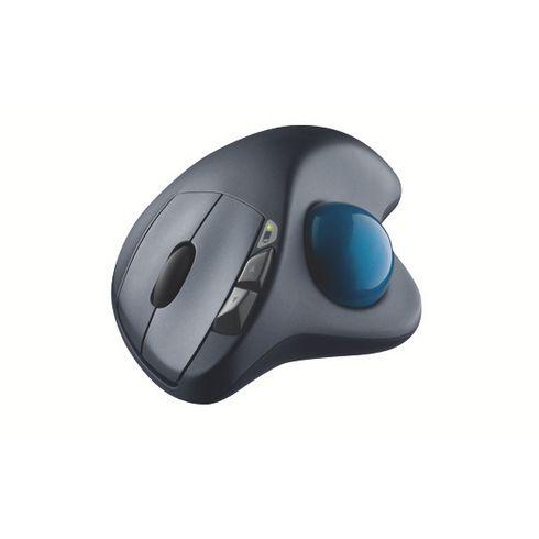Souris ergonomique trackball logitech M570 Une forme profilée qui offre à votre main un contrôle confortable. A retrouver sur Maxiburo