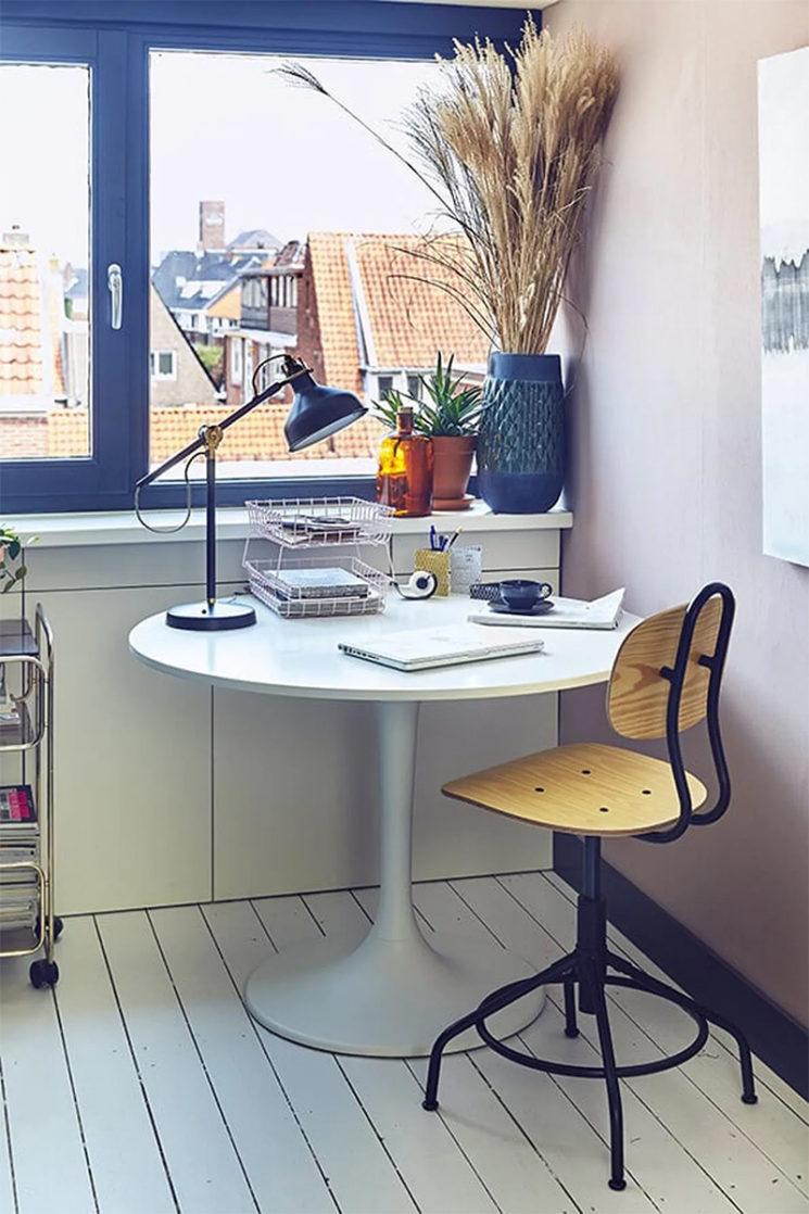Comment aménager son espace de télé-travail ? Pistes déco et conseils pratiques // Chez la blogueuse @donebymyselfblog
