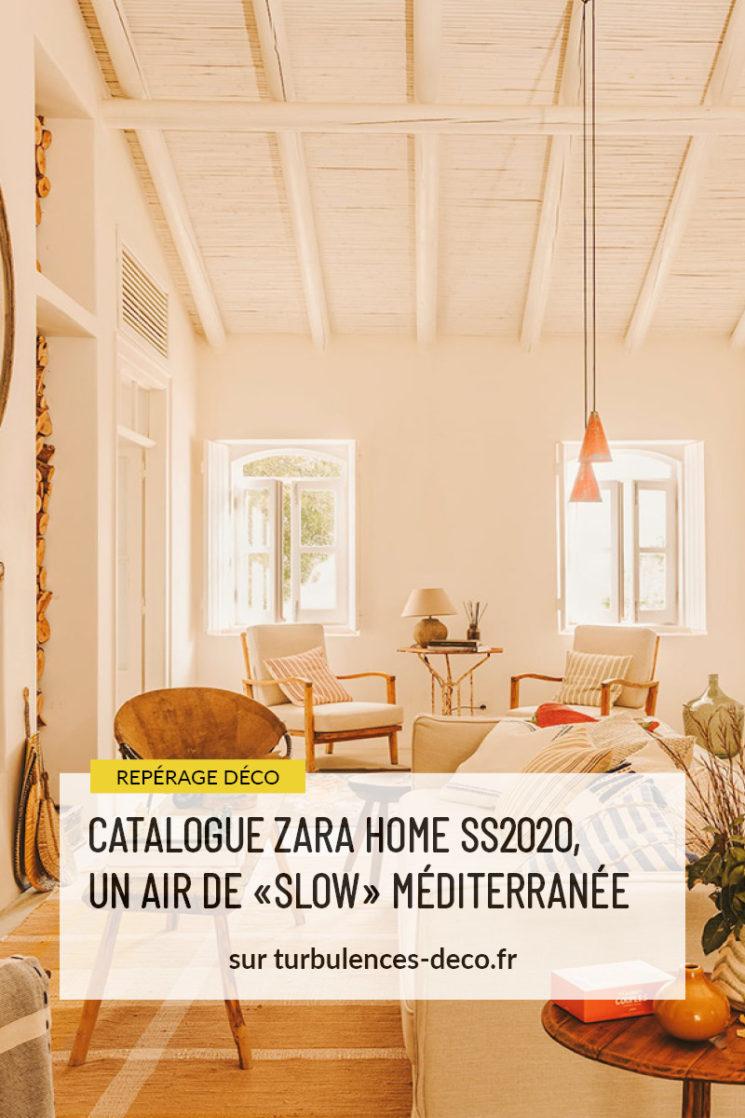 Le catalogue Zara Home SS2020, décortiqué à retrouver sur Turbulences Déco