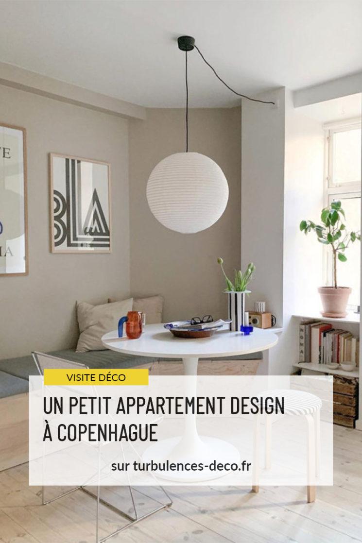 Un adorable appartement design à Copenhague à retrouver sur Turbulences déco