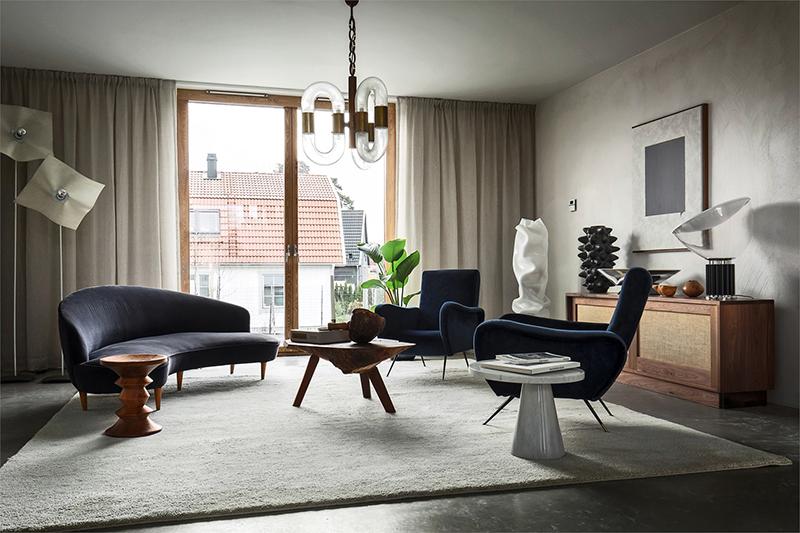 Projekt Brommabyn - Intérieur design Erik Bratsberg of The Moment Gallery