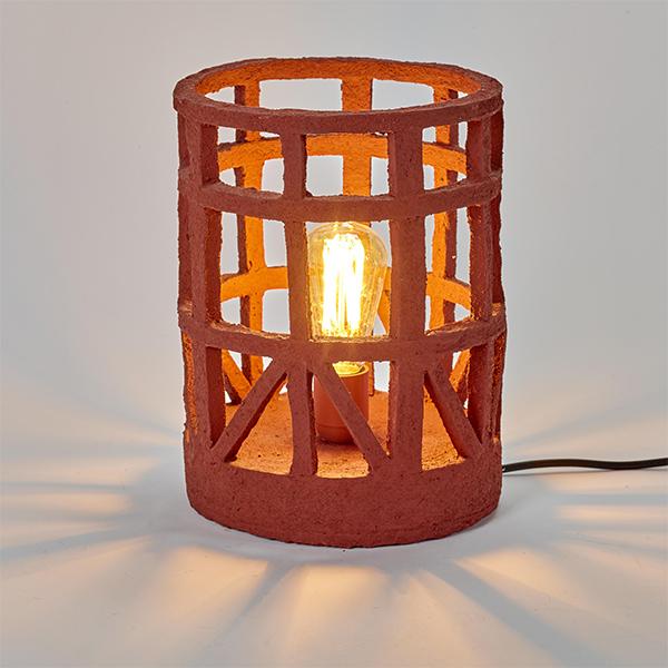 Lampe de table en papier mâché, Marie, design : Marie Michielssen - Serax