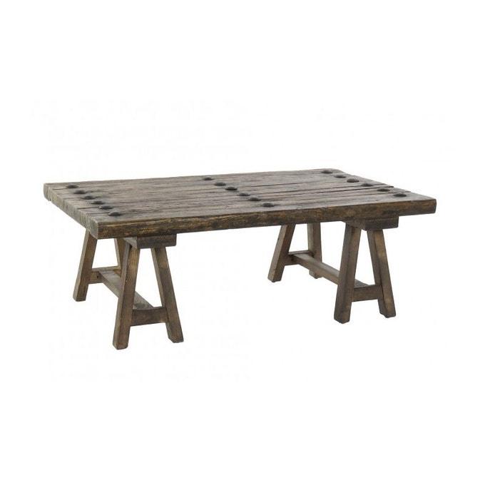 Table Basse en orme brute - Wadiga
