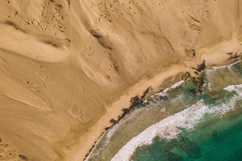 Architecture de pierre et de béton au Cap-Vert