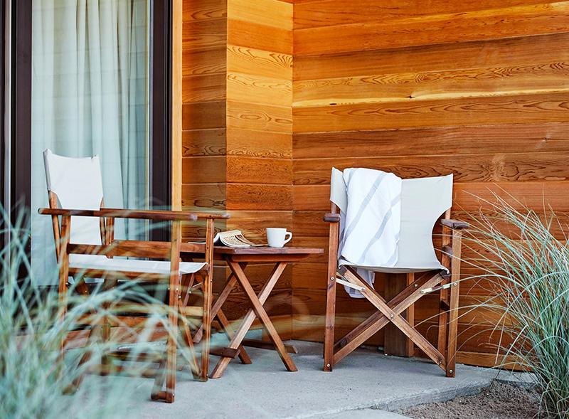 Maram hotel à Montauk, un hôtel slow en face de l'océan par le studio Tack