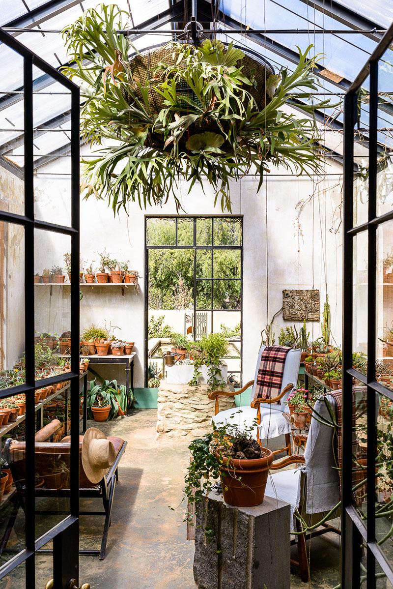 Aménager une serre comme pièce en plus au jardin